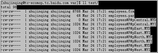 MySQL 5.1分区技术初探(三) - 第2张  | cnMiss's Blog
