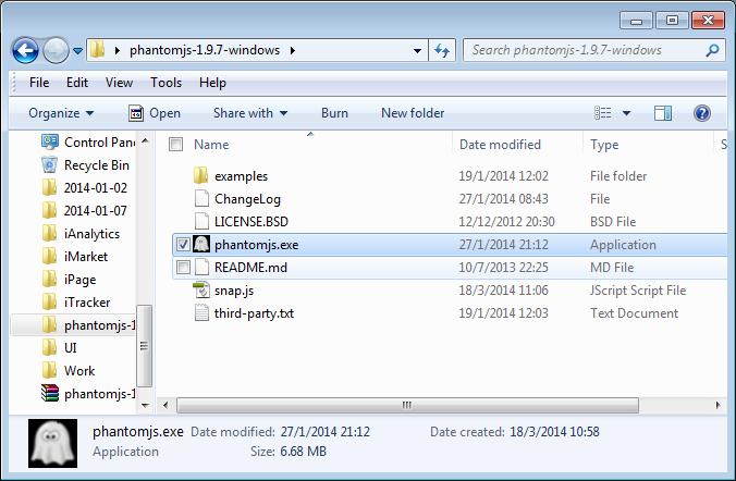 Windows 下 使用 PhantomJS 实现网站截图 - 第1张    我的博客 - 技术分享